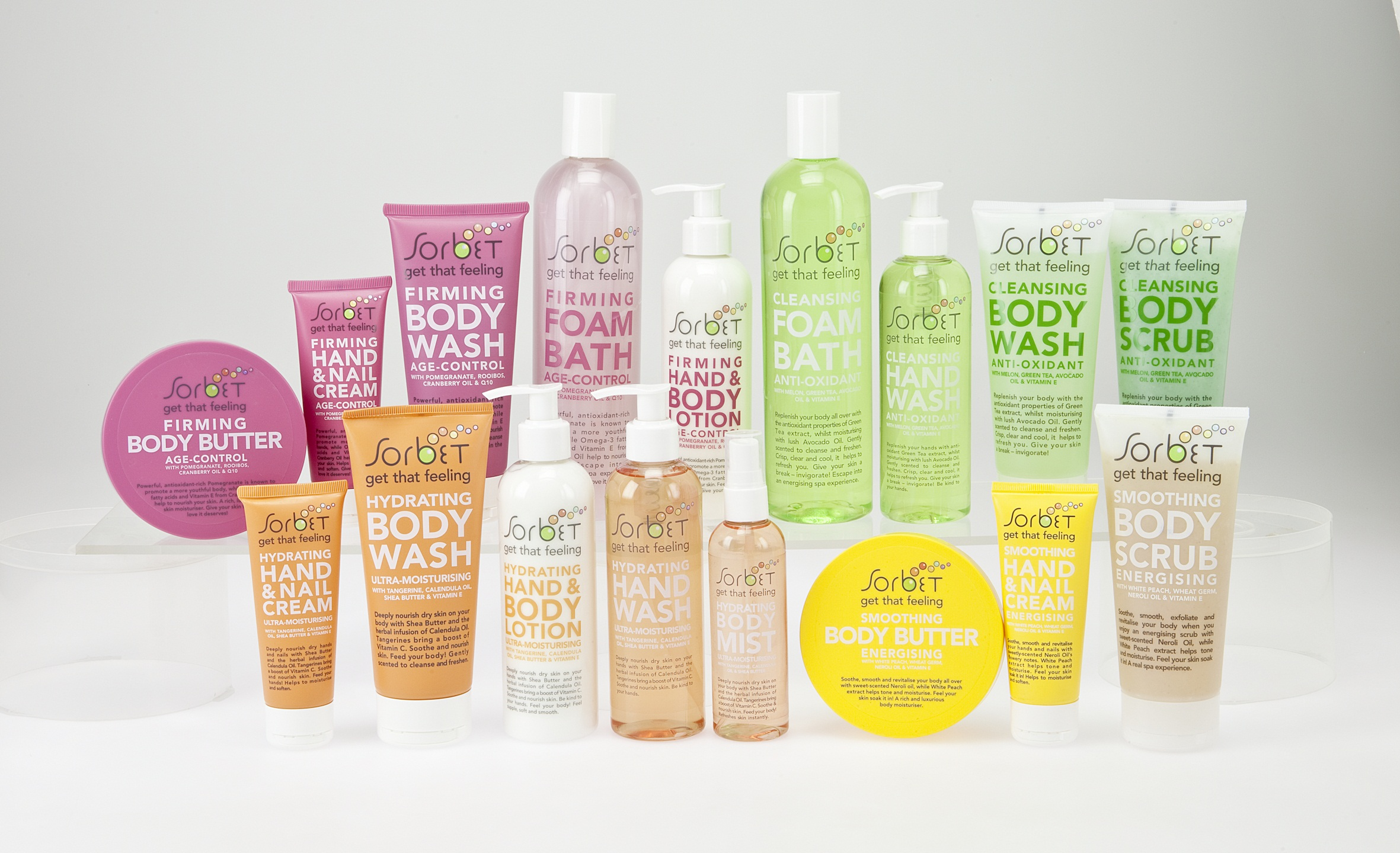 Clicks And Sorbet Team Up To Create A New Home Spa Range