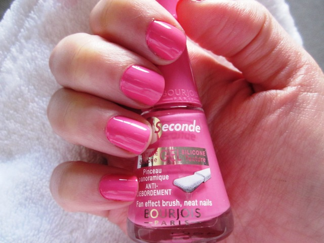 Quick Facts About Bourjois 1 Seconde Nail Polish No 14 Rainbow Apparition