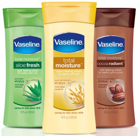 Vaseline S New Total Moisture Body Lotion And Cream Review