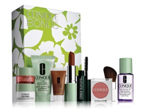 Clinique Bonus gift with purchase 2012 South Africa Gavin Rajah