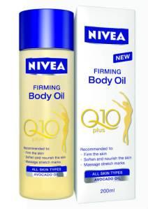 NIVEA Q10 plus Riching Firming body moisturiser and Firming Body Oil reviews