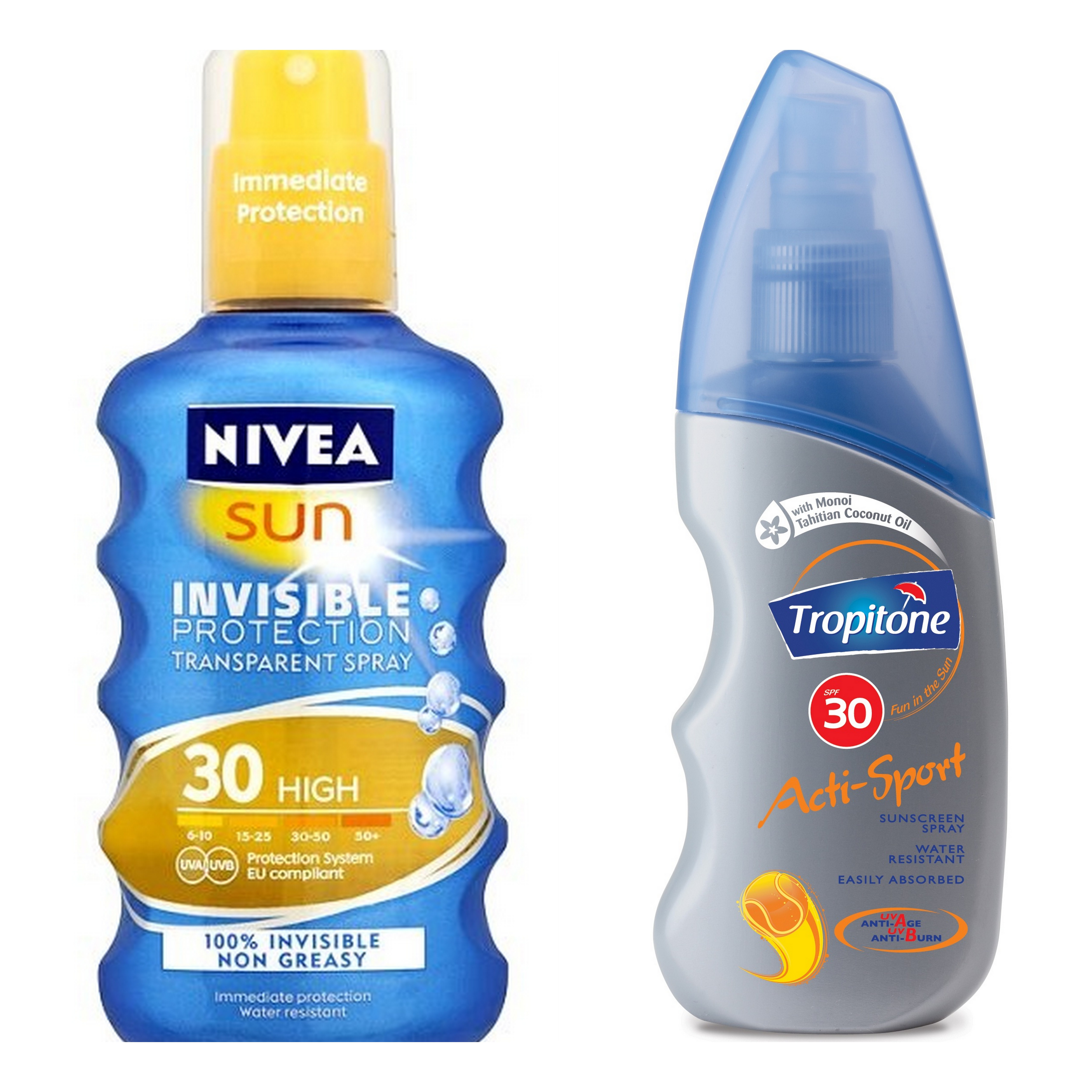 So I Tried Ten Milion Zillion Sunscreens And These Were The Ones Nivea Moisture Sun Lotion Spf 50 100 M Invisible Protection Transparent Spray