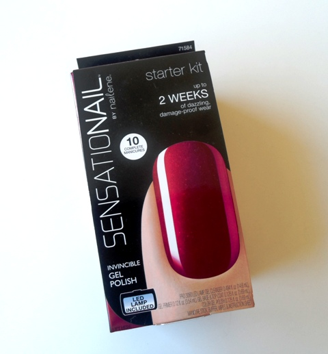 Sensationail Gel Nail Polish Kit Review With Pictures