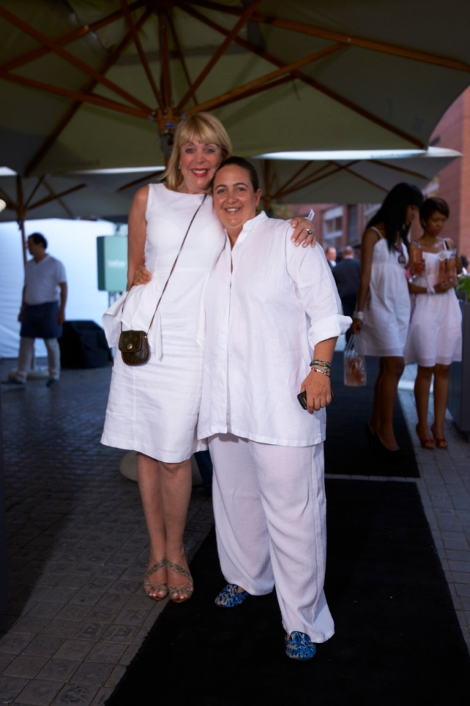 Tasha and PR Jill Groger who helped put the party together.