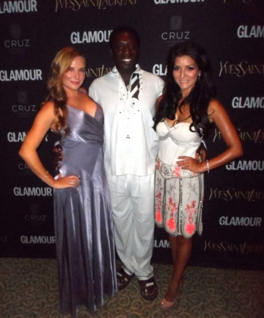 Actress Lee-Anne Summers (who starred with Hakeem in Big Fellas a few years back), Hakeem himself and Jeannie D.