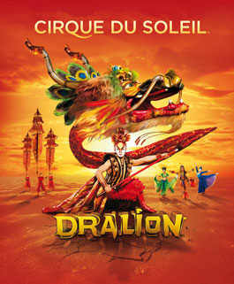 Dralion is a combination of the word dragon and lion, just so you know.