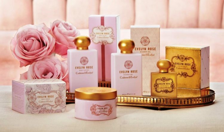 Crabtree & Evelyn Evelyn Rose collection