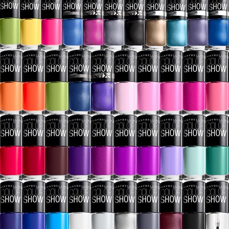 maybelline nail polish color show choose your favorites multiple colors ebay. Black Bedroom Furniture Sets. Home Design Ideas