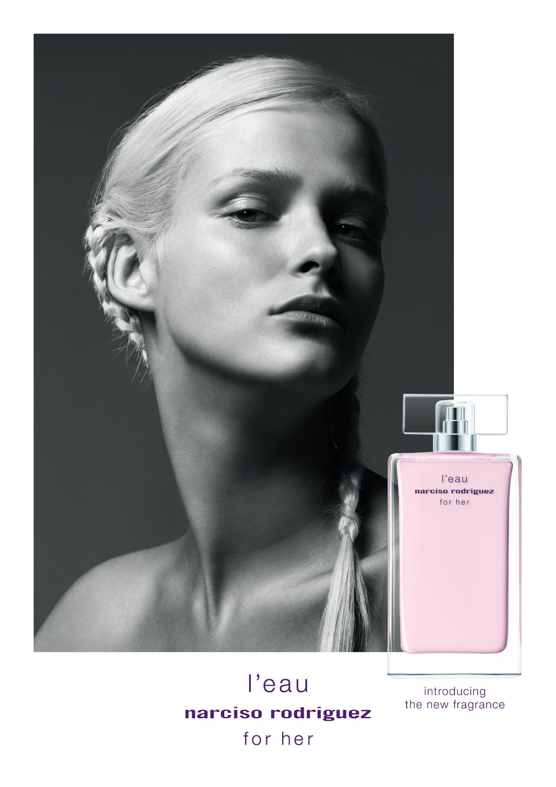 narciso rodriguez lovers take note new l eau for her is about to hit the shelves lipgloss is. Black Bedroom Furniture Sets. Home Design Ideas