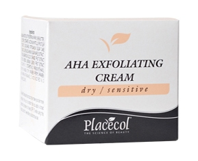 Placecol AHA Exfoliating Cream for dry/normal skin