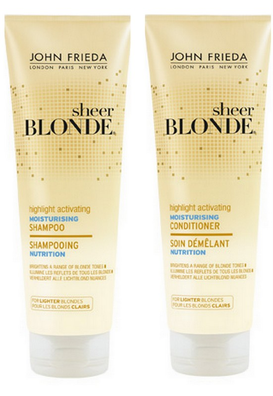John Frieda Sheer Blonde Highlight Activating Moisturising