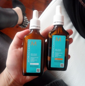 Moroccanoil do scalp treatments to balance  oily and dry scalps; who knew?
