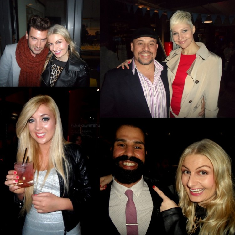 Guests included GQ's grooming ed Piet Smedy; Liezel van der Westhuizen and Mark Fine; fashion blogger Carlinn from Superficialgirls and Nick @The Alchemist BLAH.