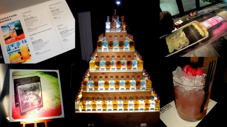 Tequila tower!