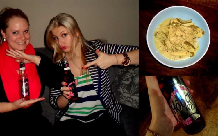 'God, this tastes like high school', said Tam. 'But I like it'.