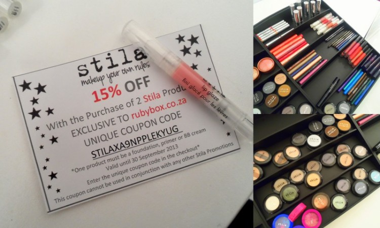 Wanna score with my Stila discount?