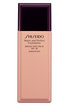 Shisiedo Sheer and Perfect foundation