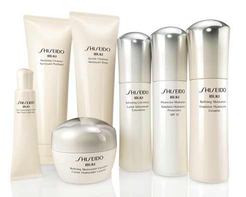 Shiseido's new IBUKI collection