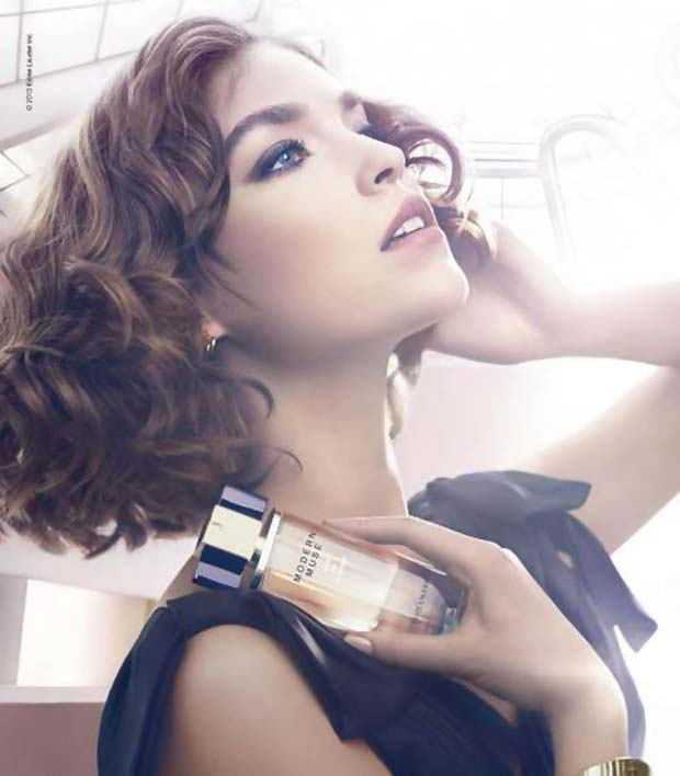 Arizona Muse is the face of the scent and yes, I agree it's kinda kismet-y that they share a name.