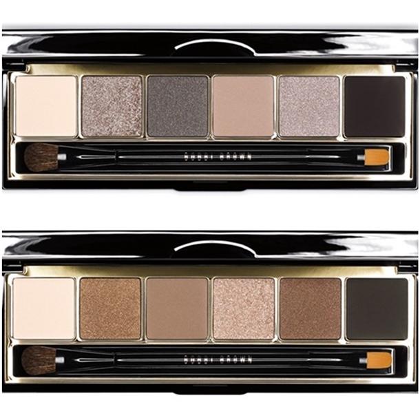Eye shadow palettes in Smokey Cool and Smokey Warm, R560 each.