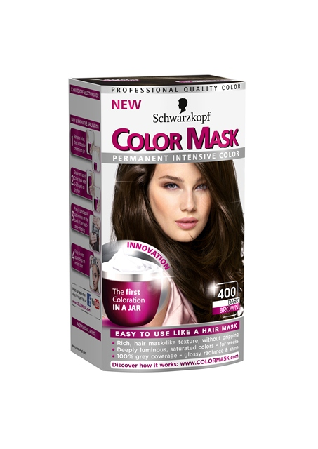 Scwarzkopf Color Mask in Dark Brown (400), R129,99.