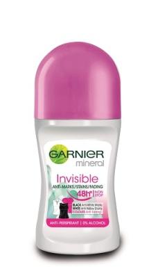 Garnier Mineral Invisible deodorant, R16.