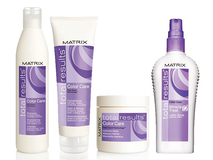 The Matrix Total Results Colour Care line