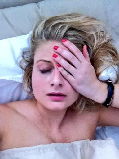 I wrote waaay too many posts last year looking/feeling like this. Lindsay Lohan was my spirit animal.
