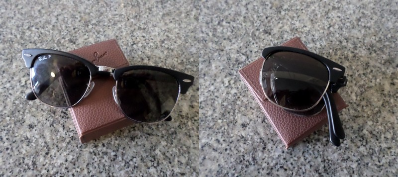 ray ban foldable sunglasses case