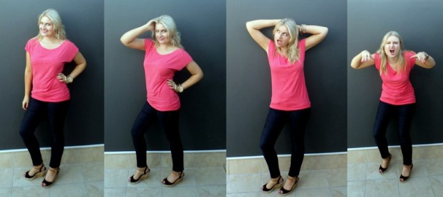 My Candice Swanepoel-esque modeling skills be illz.