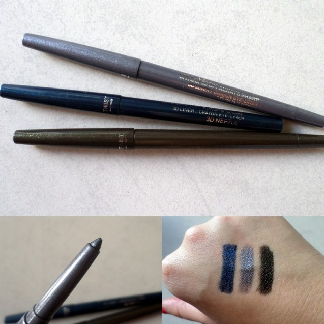 The shades in the swatch pic from left to right are Venus, Silver and BLAH.