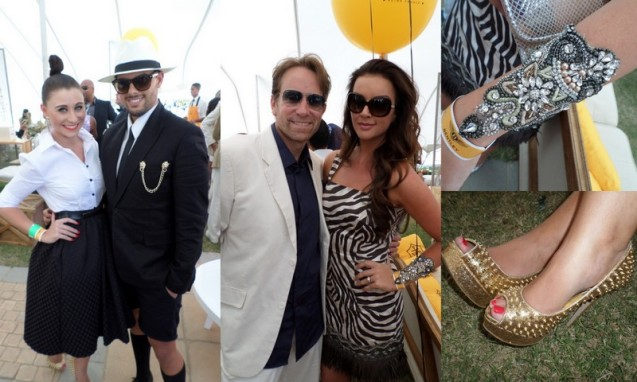 Fashion blogger Ritza van Rensburg and stylist Elrico Bellingan and Cindy Nell and hubby Clive Roberts