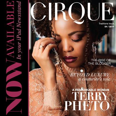 Cirque Magazine's April 2014 edition