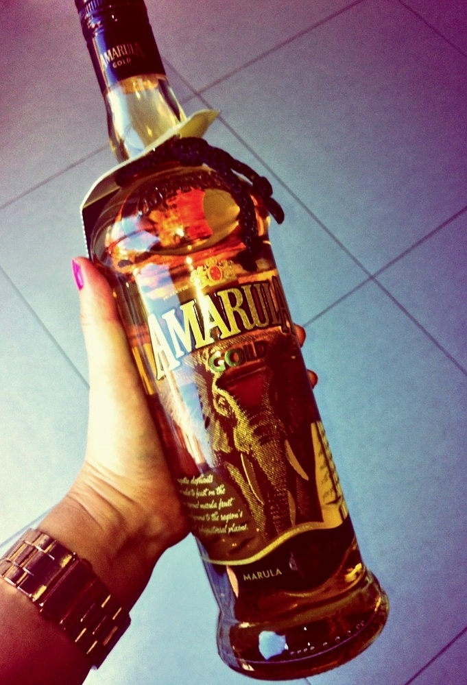 how to drink amarula gold