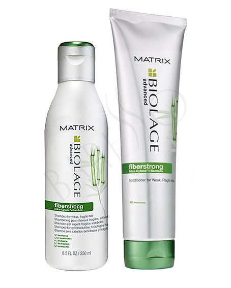 Matrix Biolage Fibrestrong shampoo and conditioner