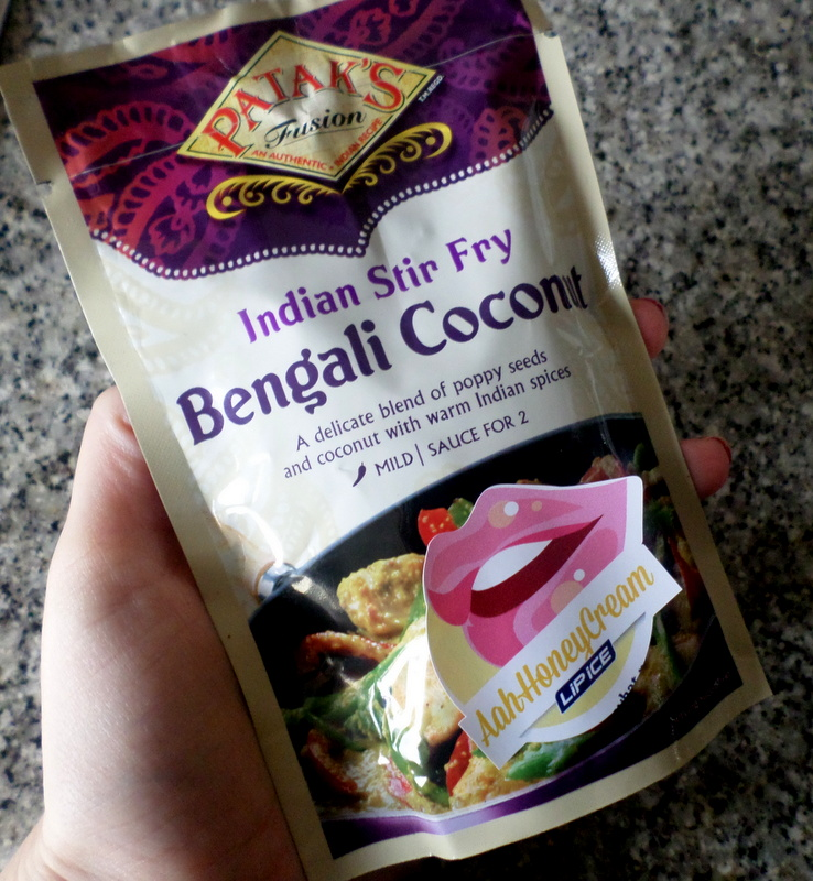 This Bengali Coconut stir fry sauce, provided you add lots of chili, is my new favourite thing. I've bought it in bulk and eaten it with prawns three nights in a row.