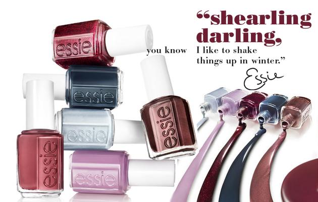 Essie Shearling, darling
