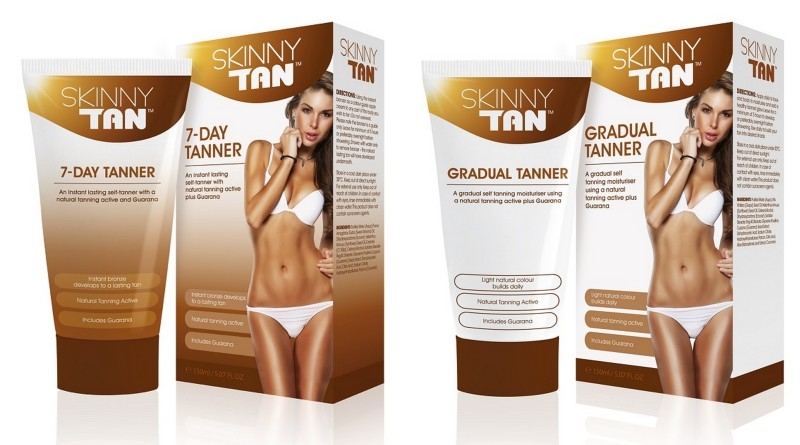 Skinny Tan 7-Day Tanner and Gradual Tan