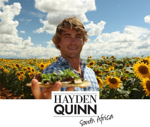 Hayden Quinn South Africa