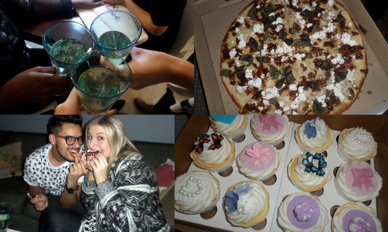 It was a good day for eating. And how much do we looove those cupcakes? Cupdogs and Bullcakes hits a home run once again.