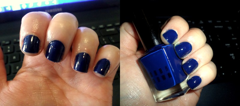 Reviews: Bobbi Brown nail polish in Navy, John Frieda Frizz-Ease ...