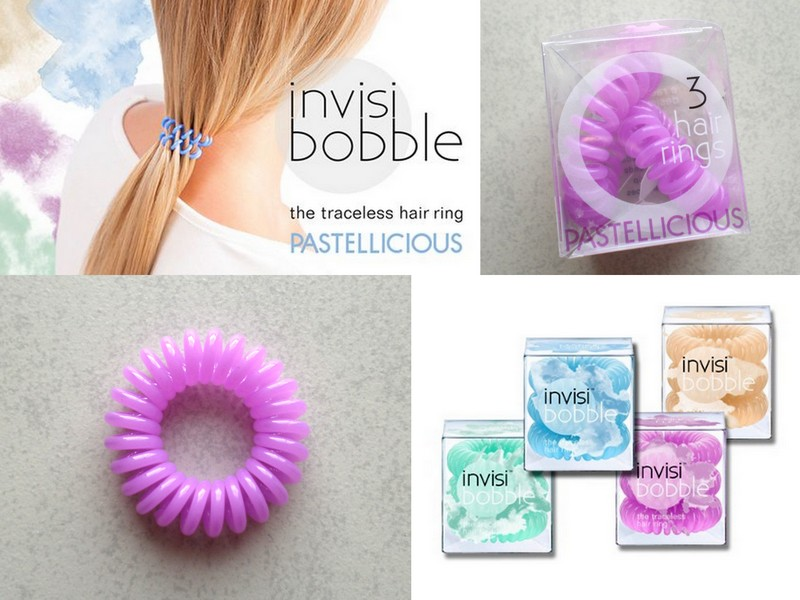 Invisibobble - The Pastelicious collection.