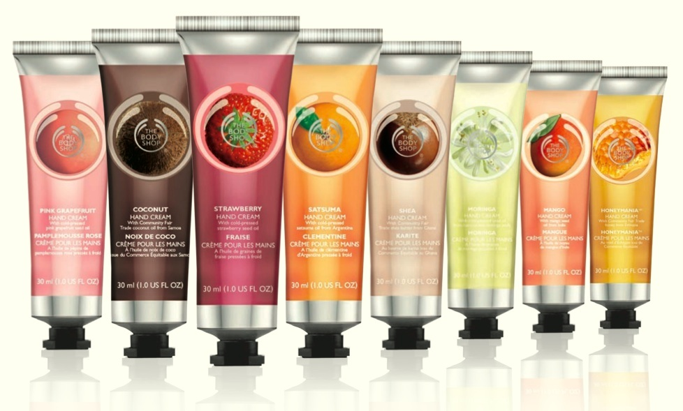 Reviews The Body Shop Hand Cream Schwarzkopf Gliss Million Gloss Line And Sorbet Nail Polish
