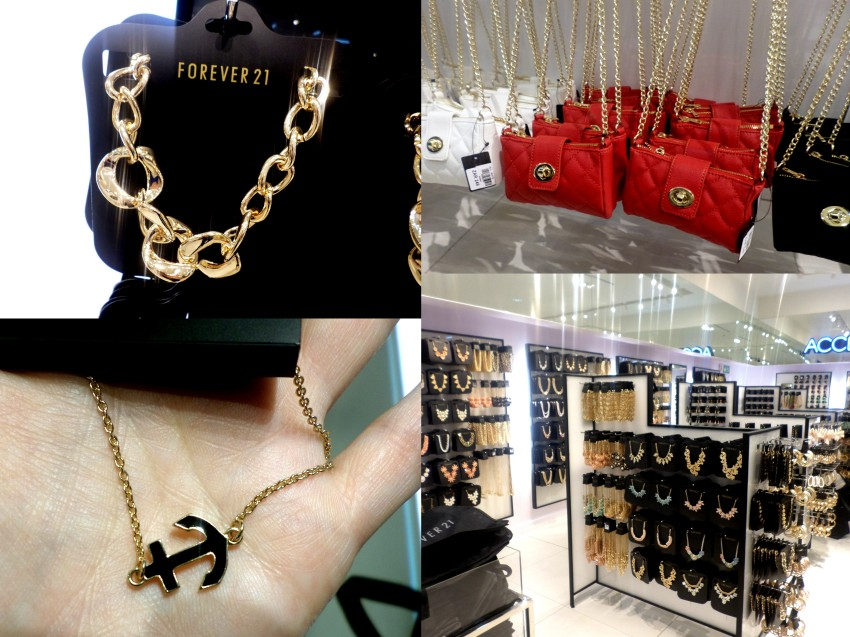 That necklace was around R150, the mini Chanel-style sakkies are R249 and that anchor bracelet was just R15!