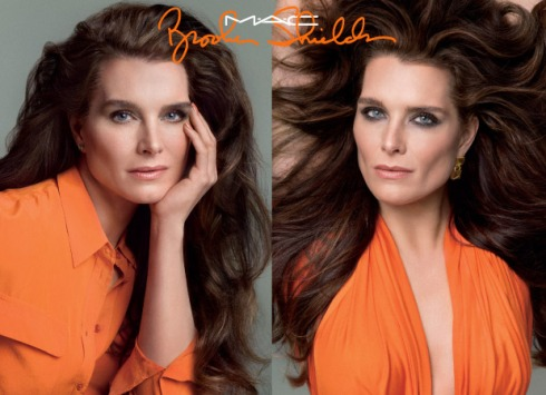 Brooke Shields. Still gorgeous after all of these years.