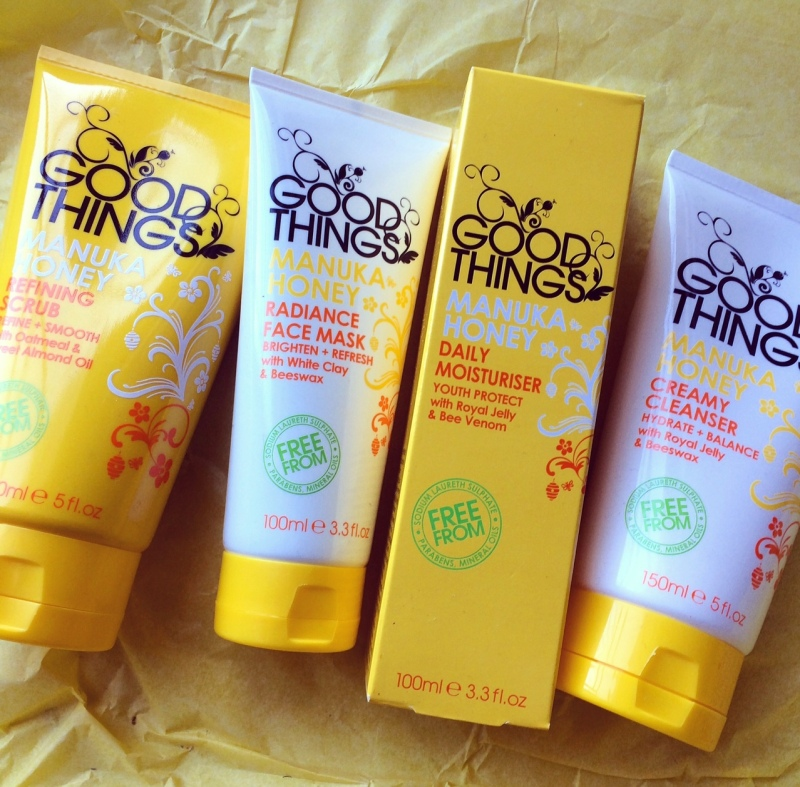 Good Things' Manuka Honey collection, exclusive to Clicks