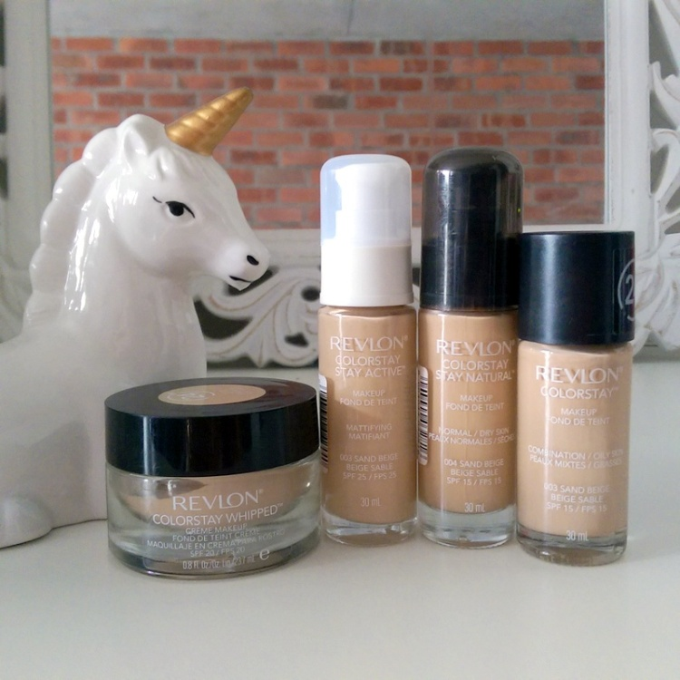 Revlon ColorStay foundation - unicorn approved.