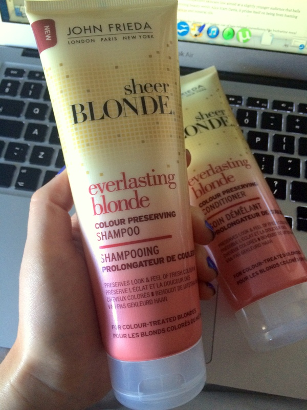 John Frieda Everlasting Blonde sham and con