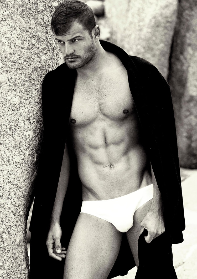 Isn't it lovely when your night in shining armour happens to look like a cK underwear model?