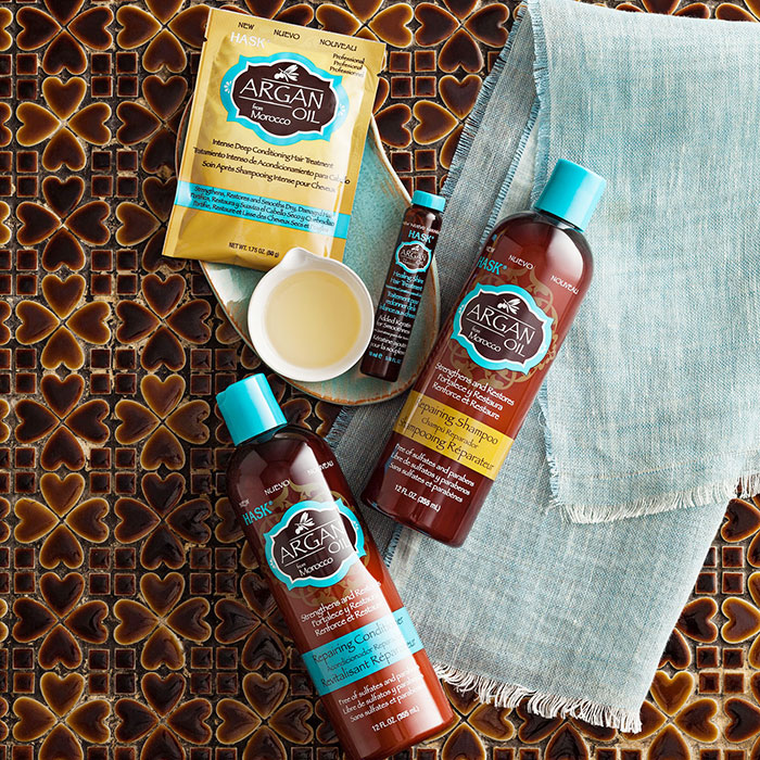 Hask's Argan oil range